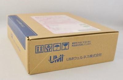 UMIウェルネスのコラーゲンゼリーの外箱